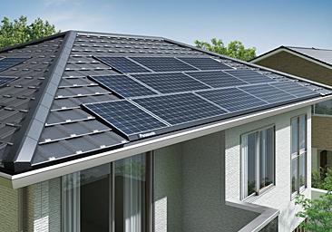 ソーラーパネル設置サカモトリビング