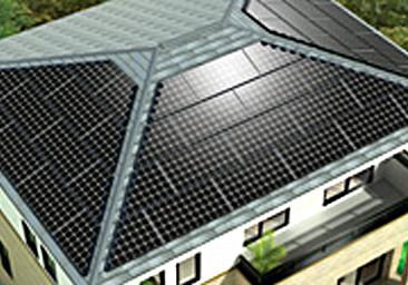 太陽光発電ソーラーパネルサカモトリビング